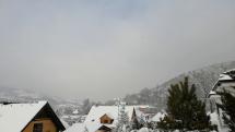 Nádielka snehu pod Pohronským Inovcom