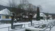 Rokytovce pod snehom