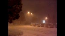 Snehová víchrica v ZM