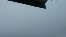 Badejov v dáždi, pohľad na Vinbarg