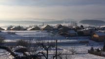 Ráno v Hôrkach