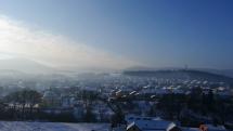 Slnečné ráno v Snine