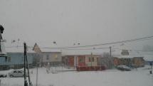 Sneženie v Likavke - 28.1.2019