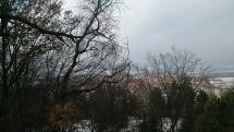 Poľad do údolia od altánku