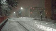 Nová nádielka snehu v BJ