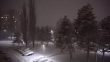 Intenzívne sneženie 12.2.2019 v Bardejove