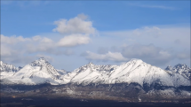časozber oblačnosti nad Tatrami, 9.3.2019 - dopoludnia