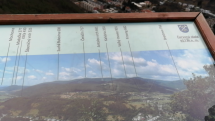 Pohľad na Štiavnické pohorie