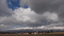 Tatry z Popradu, dnes dopoludnia - 26.3. 2019