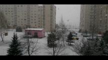 Aprílové počasie pod Tatrami v Poprade