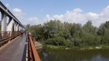 V Nemsovej pri rieke Vah