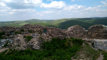 Dnes na zrúcanine hradu Branč