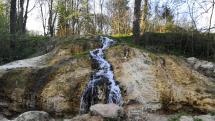 Travertinový vodopád - unikát