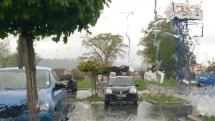 V Bardejove prší