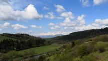 Dolina rieky Poprad pri Podolínci