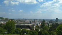 Pohľad na Bratislavu zo Slavína