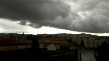 Búrka v Bardejove