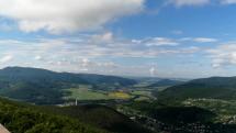 Pohronský Inovec a mesto Nová Baňa