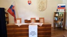 Volebné miestnosti Eu voľby