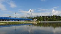 oblačnosť nad Tatrami - z Popradu - Spišskej Soboty, 26.5.2019, dopoludnia