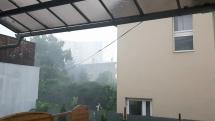 Búrka v centre