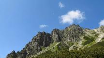 Vysoké Tatry, okolie vodopádu Skok