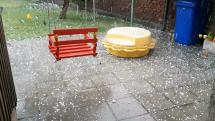 Búrka v Olomouci