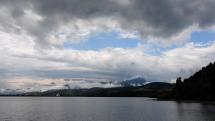 oblačnosť v okolí vodnej nádrže - Bešeňová