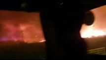 Požiar v Chorvátsku