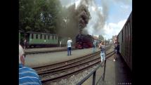 trať Zittau - Jonsdorf - Oybin v bývalém NDR