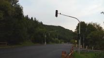 Svetelná križovatka do šalkovej  , Slovensko