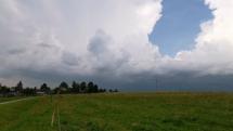 Oblačno na Tatrami