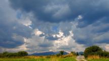 oblačnosť v okolí Východnej