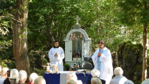 Kázeň požehnanie kaplnky
