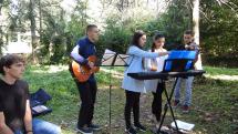 Spevy počas slávnosti