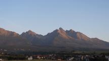 Vysoké Tatry ráno
