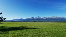 Krásne bezoblačno dnes Vysoké Tatry