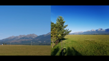 Dvojité zobrazenie dnes  Vysoké Tatry