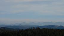 Pohľad na Vysoké Tatry a Malú Fatru