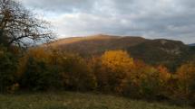 Štiavnické pohorie a Novobanské hory...