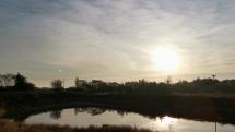 Dnešný východ slnka v okolí Batizoviec