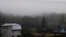 Ranná hmla v Rokytovciach