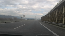 D1 Žilina smer Ružomberok