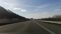 D1 Žilina smer Bratislava
