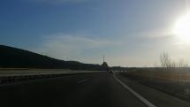 D1 Beckov smer Bratislava