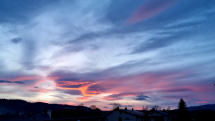 Západ slnka Batizovce dnes