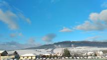 Prvý sneh v Rajci