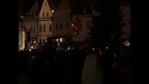 Príchod Mikuláša do mesta Bardejov (2)
