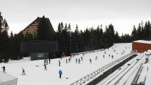 lyžovanie na Štrbskom plese - do Reginy