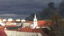 Požiar Sedlčany
